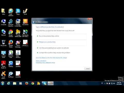 Make window 7 genuine free in hindi