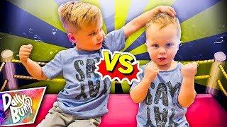 Big Brother Vs. Little Brother Challenge!