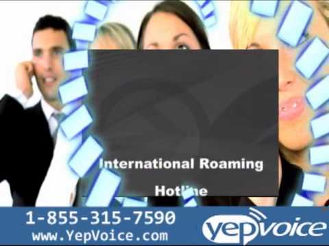 YepVoice International Calling Card.
