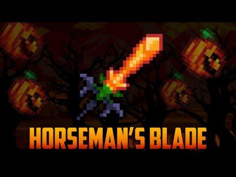 Terraria - Horseman's Blade [My favorite sword]