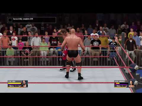 WWE 2K16 - Completed QTE
