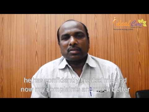 A patient suffering from Stricture Urethra thanks Dr Amol Ravande