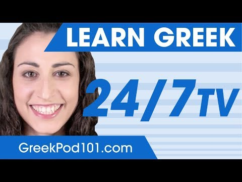 Learn Greek in 24 Hours with GreekPod101 TV