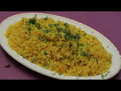Dal Khichdi - Khichdi Recipe - दाल खिचड़ी - Hotel Style Moong Dal Khichdi - Healthy Dal Khichdi