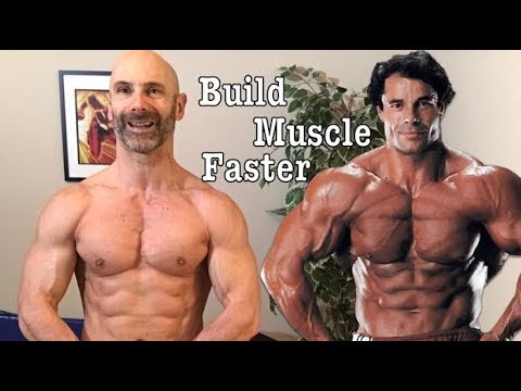 How to Build Muscle Faster, Break Through Training Plateaus for Greater Strength Gains Naturally