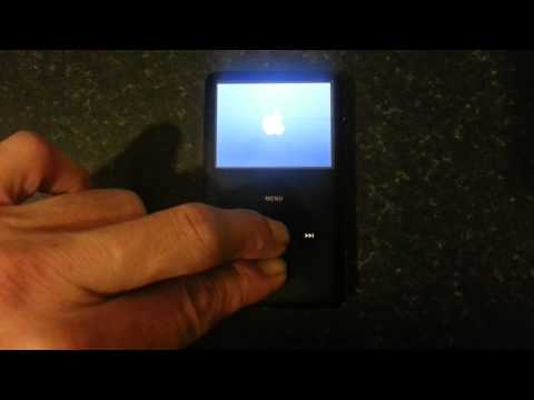HOW TO GET IPOD CLASSIC IN TO DISK MODE QUICK AND EASY