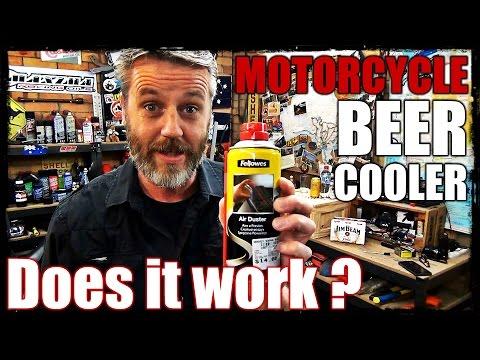 Motorcycle Beer Cooler - Does it work?
