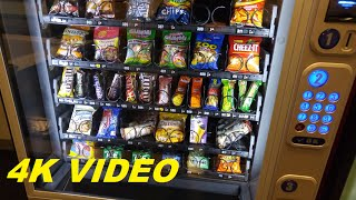 4K VIDEO: Snack Vending Machine @ Leominster Hospital (Leominster, MA)