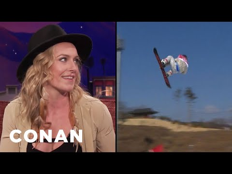 Jamie Anderson Tapped Into Her Inner Lioness At The Olympics  - CONAN on TBS