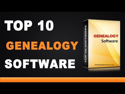 Best Genealogy Software - Top 10 List