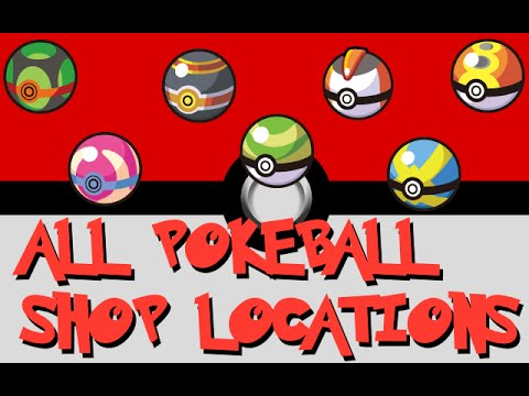 WHERE TO BUY ALL SPECIAL POKEBALLS in OMEGA RUBY & ALPHA SAPPHIRE
