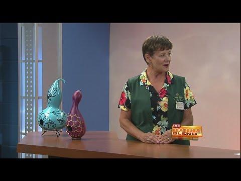 Pima County Master Gardeners - Creating bird houses using gourds