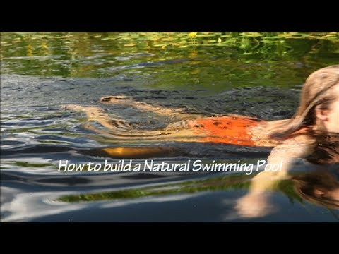 How to Build a Natural Swimming Pool - Shaping the Deep Zone