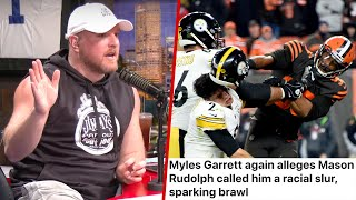 Pat McAfee's Thoughts On Myles Garrett Accusing Mason Rudolph Of Using Racial Slur