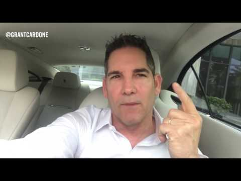 How to Be Consistent - Grant Cardone