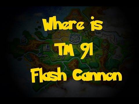 Where Is: TM 91 - Flash Cannon (Pokemon X/Y)