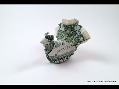 How to make an origami Dollar Turkey