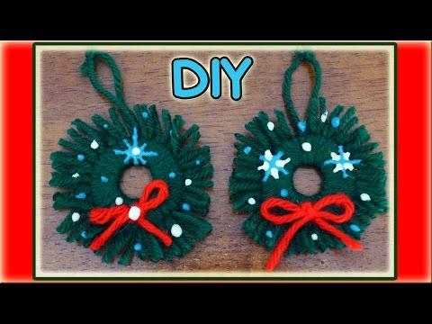 Easy Homemade Christmas Ornaments