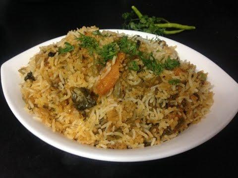 Hyderabadi Veg Dum Biryani Recipe - How To Make Veg Dum Biryani or Vegetable Dum Biryani Recipe