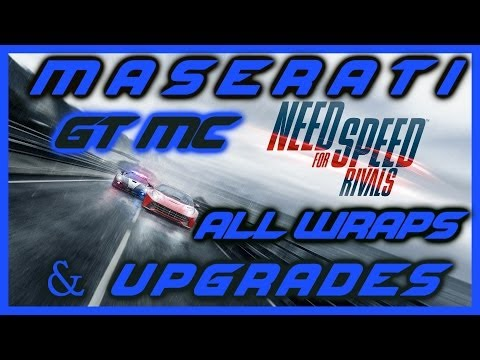 NEED FOR SPEED RIVALS PS4 | MASERATI GT MC STRADALE | ALL WRAPS | OVERWATCH UNLOCK | HD