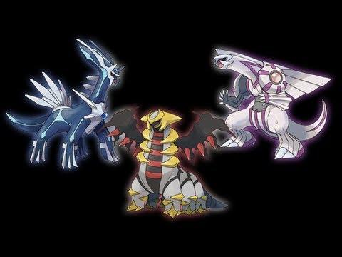 Capturar a Palkia , Dialga , Giratina en pokemon oro heart gold y Plata soul silver