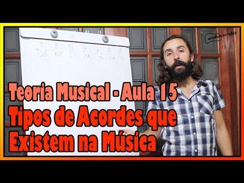 Curso de Teoria Musical - Aula 15: Tipos de Acorde que Existem na Música l Aula #113