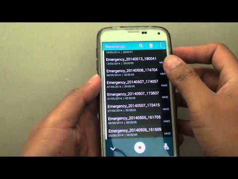 Samsung Galaxy S5: How to Delete Voice Recording Files