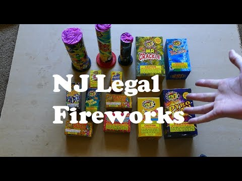 NJ Legal Fireworks