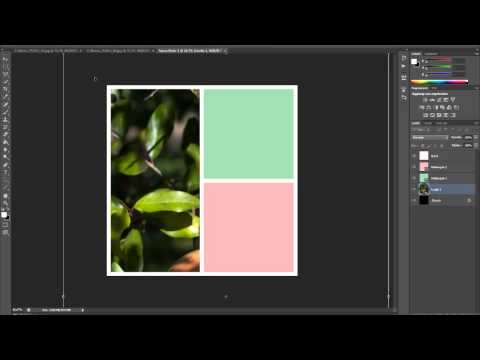 Photoshop CS6 tutorial italiano: collage foto in stile instagram