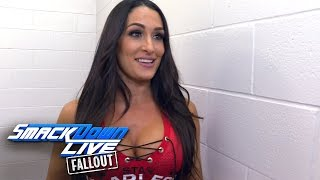 Does Nikki have confidence in Natalya as coach of their team?: SmackDown LIVE Fallout, Nov. 1, 2016