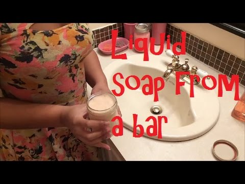 HOW TO MAKE LIQUID SOAP WITHOUT LYE