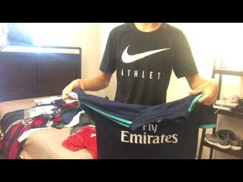 Soccer Jersey Collection!!