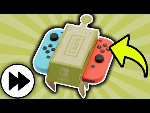 Making the Nintendo Labo Toy-Con RC Car! ⏩ 4X FASTER! ⏩