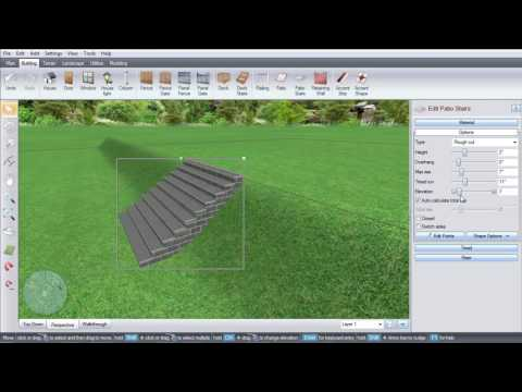 Realtime Landscaping- Patio Stairs on a Slope