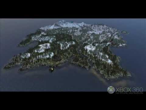 First Skyrim Dragonborn Land Mass Map