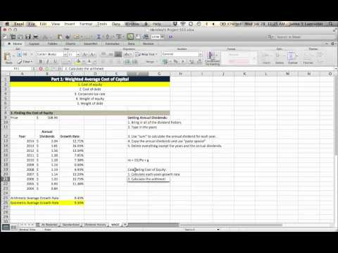 Project S15 - Using DDM to find cost of equity