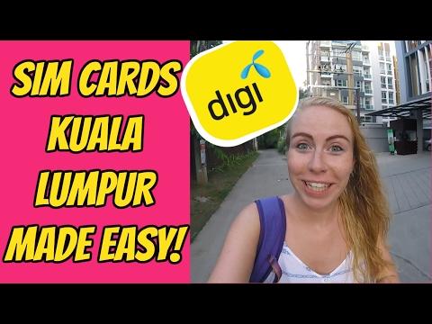 HOW TO GET A SIM CARD IN KUALA LUMPUR