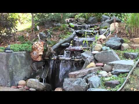 Rock-on-a-Roll in finished garden ponds and streams