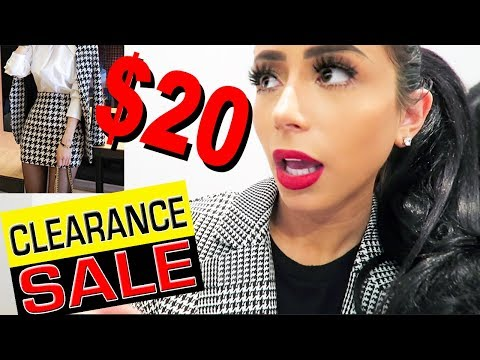 CLEARANCE ONLY OUTFIT CHALLENGE!