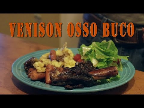 Venison Recipe - how to cook Braised Deer shanks the perfect Christmas Dinner