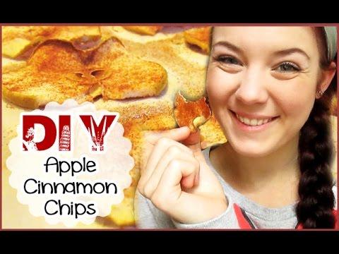 DIY Apple Cinnamon Chips
