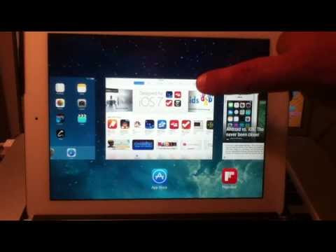 How To Close Open Apps In iOS 7 For iPhone, iPad, iPod Touch - IMG 0898