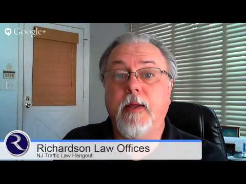 June 2014 Hangout - Answering Your NJ Traffic Law Questions