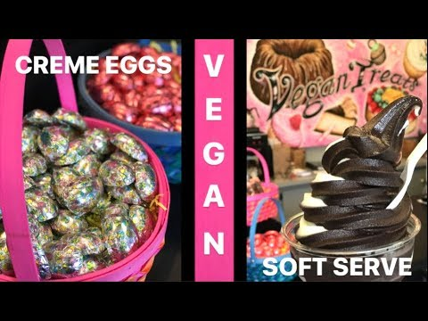 VEGAN Creme Eggs, Cannolis & Soft Serve - VEGAN TREATS
