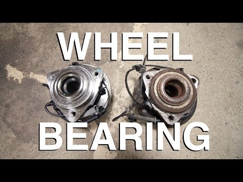 How to Replace a Hub & Wheel Bearing Assembly (EASY WAY)
