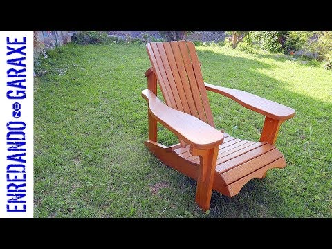 How to assemble the Adirondack chair