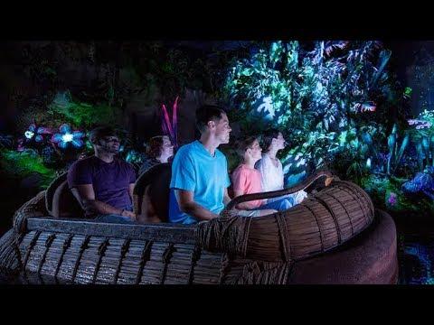 FULL RIDE Na'vi River Journey at Pandora - The World Of Avatar / Animal Kingdom