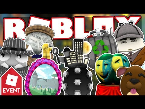 [EVENT] How to get all the EGGS IN HARDBOILED CITY | Roblox Egg Hunt 2018: The Great Yolktales