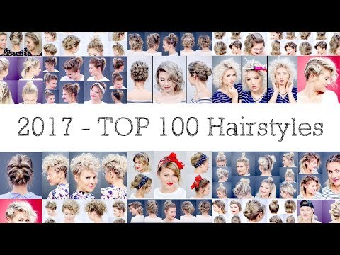 Top 100 Short Hairstyles from 2017