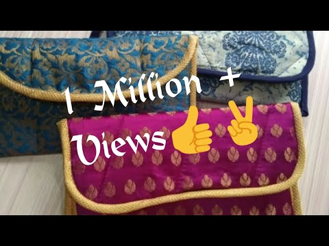 DIY Designer bag at home, wa-7715021990, partywear purse, कपडे के टुकडो से पर्स , diy crossbody bag